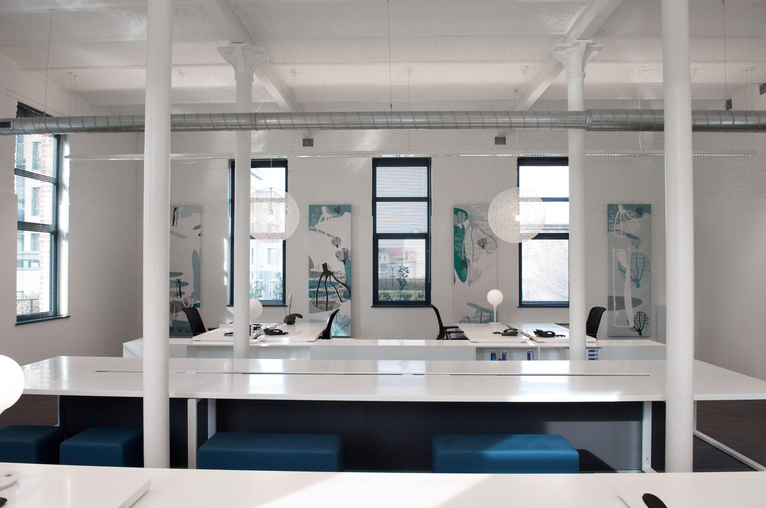 werk-bench voor flex werken