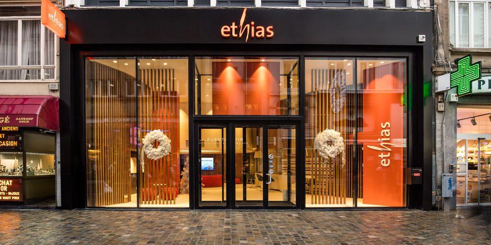 façade agence ethias bruxelles