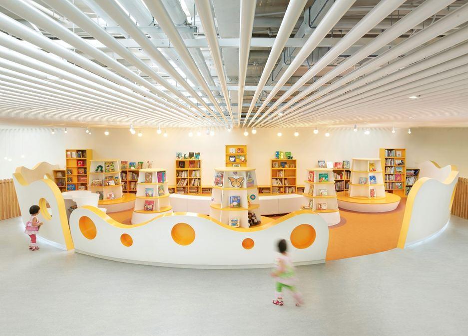 Kindje voor boekenrekken