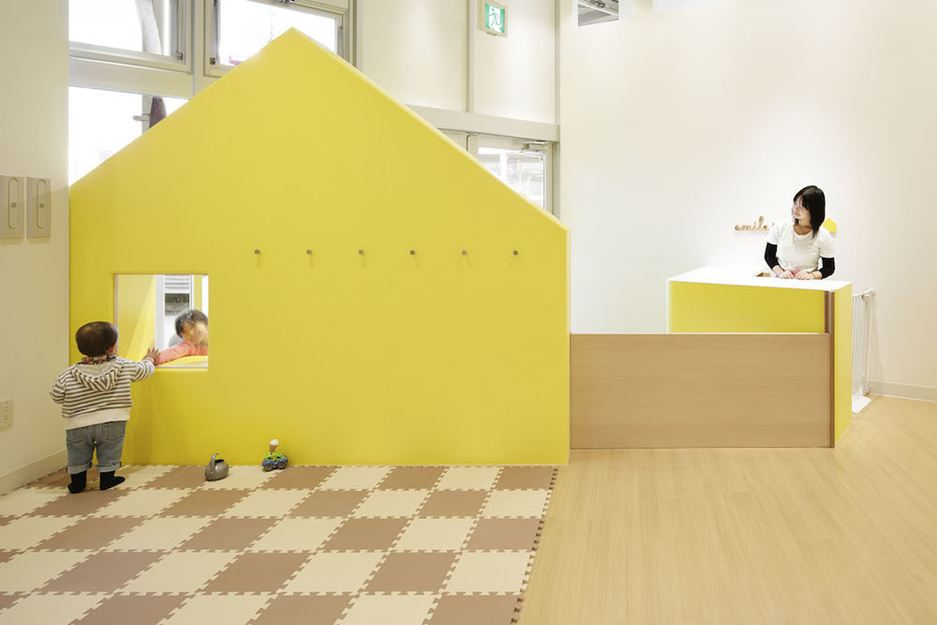 Kind en kinderhuisje