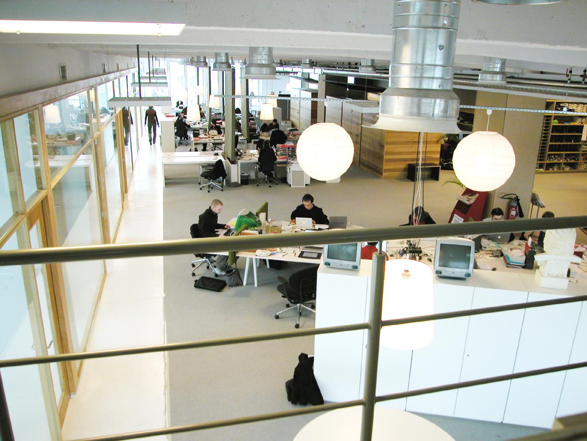 Zicht op werkruimte