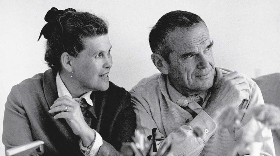 portret Ray en Charles Eames