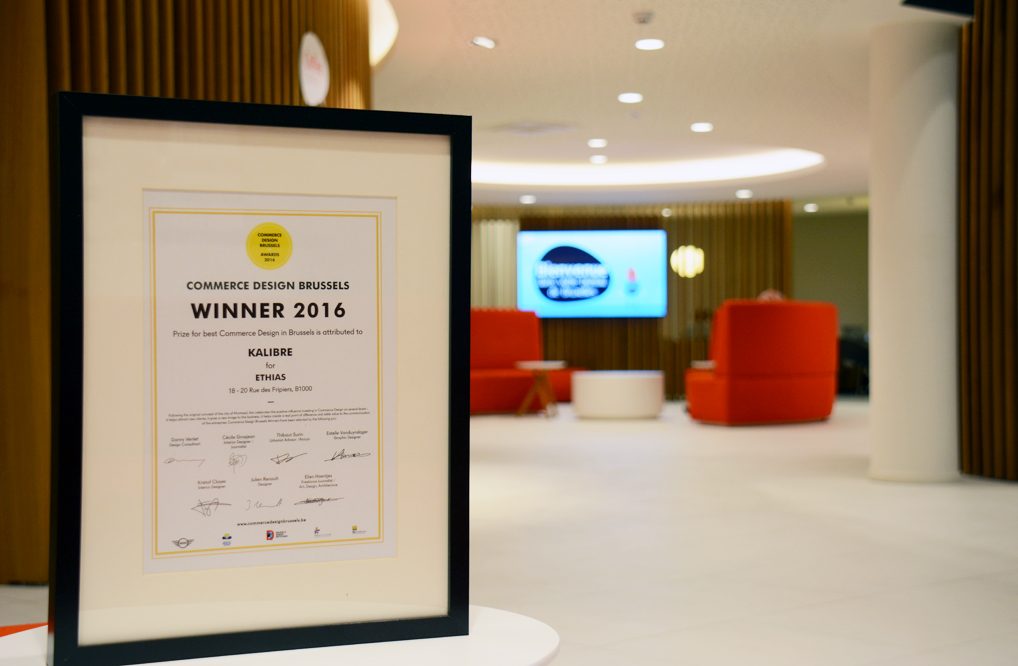Commerce design brussels award